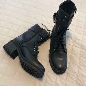 Steve Madden biker boots size 7.5